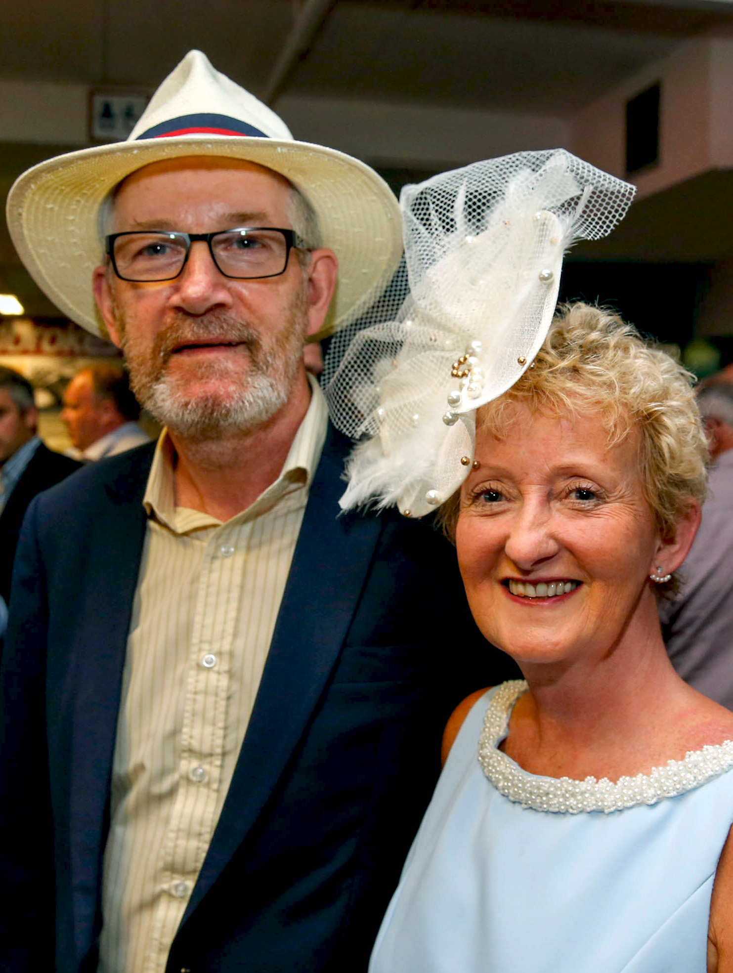 11-6-16 coral.ie Race Day at Limerick Racecourse.Declan and Anne McGuire, Murroe.Picture: Keith Wiseman