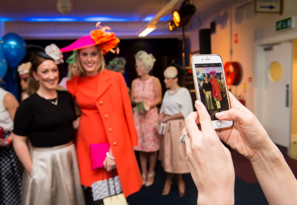 "06/06/2015Karen Wright from Kinsale was the worthy winner of the Crescent Shopping Centre Twilight Racing Most Stylish competition at Limerick Racecourse on Saturday 6th of June. Karen wowed the judges with a vintage chic orange Jacket and matching dress which was her mother's going away outfit after her wedding in 1973.  The outfit was teamed with a fuchsia and orange hat and clutch to compliment the look.  Karen received vouchers to the value of €300 for Primadonna and Neville Jewellers in the Crescent Shopping centre.  Many ladies pre-registered on www.limerickraces.ie for the competition and the standard of the style was exceptionally high with great summer colours and attention to details.Fiona Hayes, Fashion Assist, stated ""There was amazing style at the racecourse Saturday evening and most stylish lady Karen Wright stood out because her outfit looked current yet classic""This was the first of the twilight evening and a large crowd enjoyed exciting national hunt action followed by the Dublin Gospel Choir.  The next twilight evening takes place on Friday 19th of June with racing from 5.30pm, followed by Prison Love on stage after racing and the final evening is on the 23rd of July with entertainment provided by Mike Denver and his band.Pictured are Fiona Hayes, Fashion Assist, left, and Most Stylish Lady winner Karen Wright, from Kinsale, Co. Cork.Limerick Racecourse, Greenmount Park, Patrickswell, Co. Limerick.Picture: Diarmuid Greene/Fusionshooters"