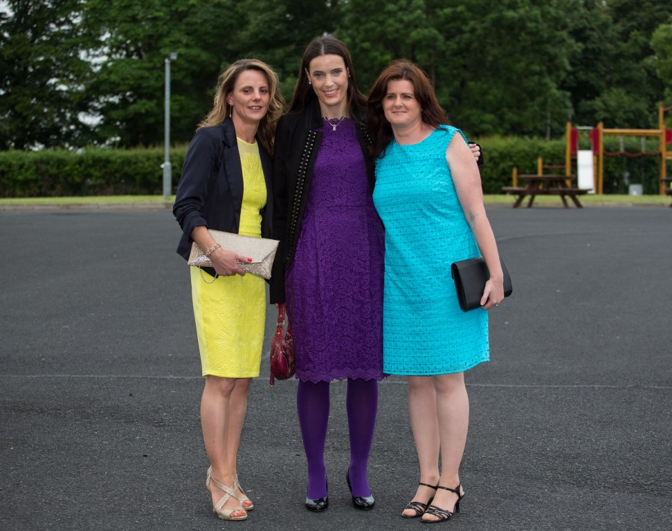19.06.2015              Limerick Racecourse hosted the second evening of The Twilight Racing Festival on Friday.Attending the event were, Sharon Noonan, Martha O'Sullivan and Angela Rogers. Picture: Alan Place/FusionShooters.