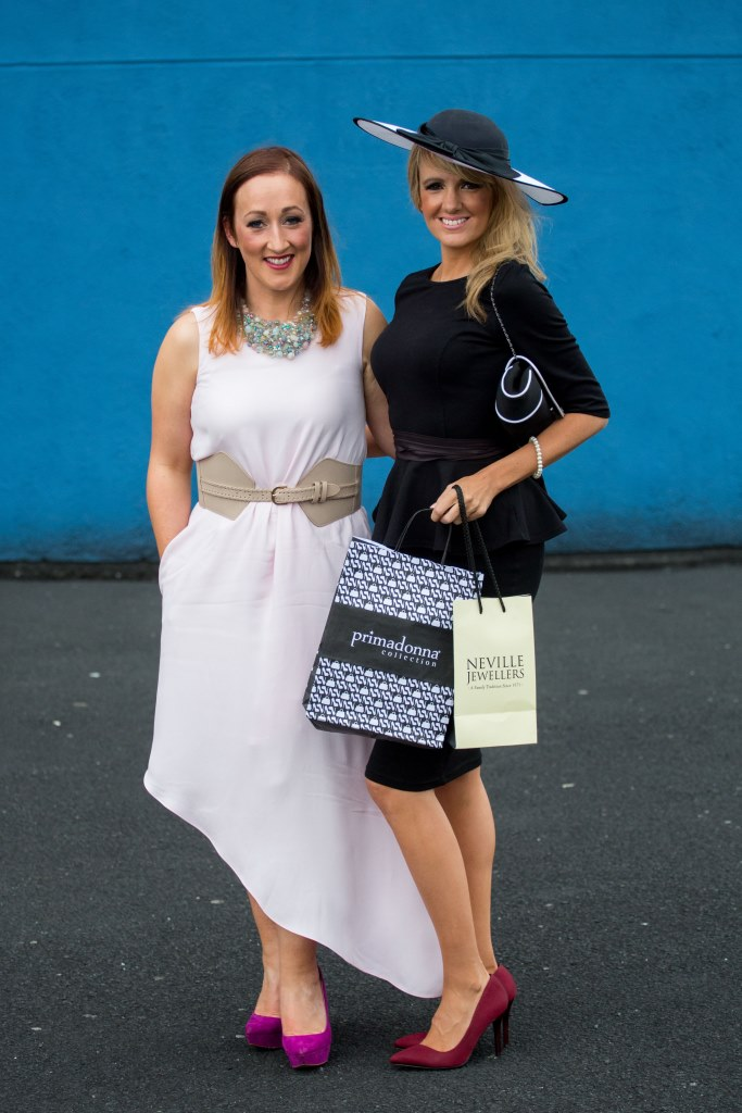 19.06.2015              Limerick Racecourse hosted the second evening of The Twilight Racing Festival on Friday.Michelle Noonan, Castletroy Limerick was named as the best dressed ladies on the night. Picture: Alan Place/FusionShooters.