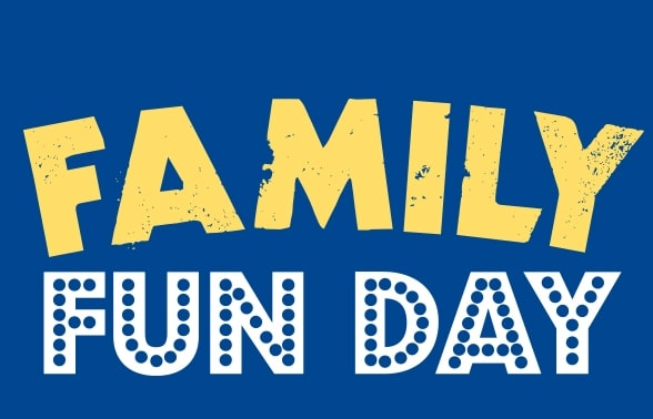 Family fun day 8th of May