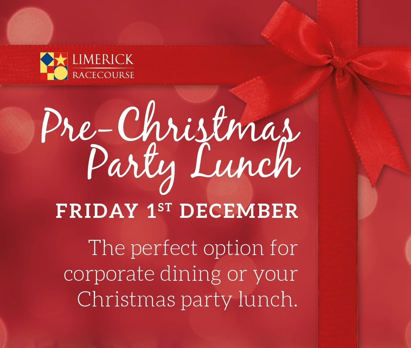 Christmas Party Lunch on Friday 1st December