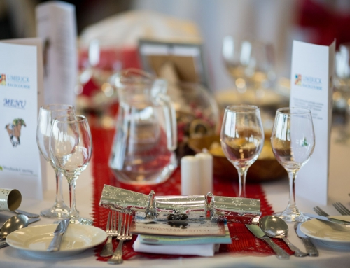 Dine in style at the races this Christmas